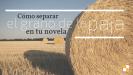 Cómo separar el grano de la paja en tu novela